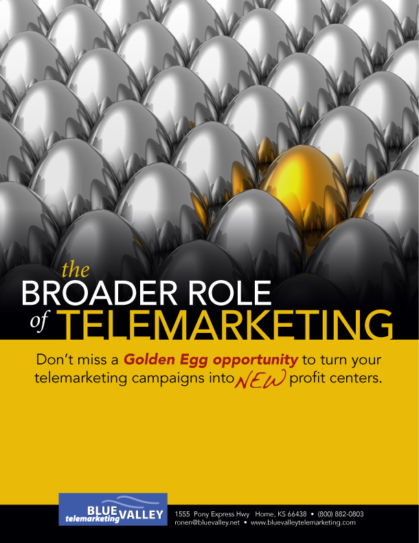 The Broader Role of Telemarketing