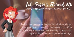Lil' Susie's Round Up, October 13, 2017