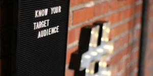 Segment your target market for better outreach.