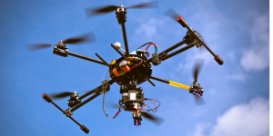 Marketing has always involved smart use of visuals, and drones are upping the ante.