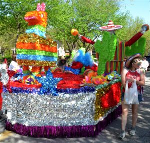 Join us for Monday Morning Coffee and memories of St. Joseph's Apple Blossom Parade and Festival.