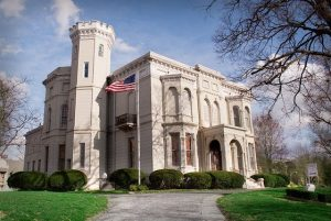 The historic, stunning Wyeth-Tootle Mansion is home to St. Joseph Museum, which celebrates the building's architecture.