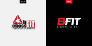 Adjustments SJC Marketing made to BFIT CrossFit's logo design allows the fitness brand to target a wider audience.