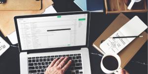 Email marketing efforts utilizing social media channels offers a massive return on investment.