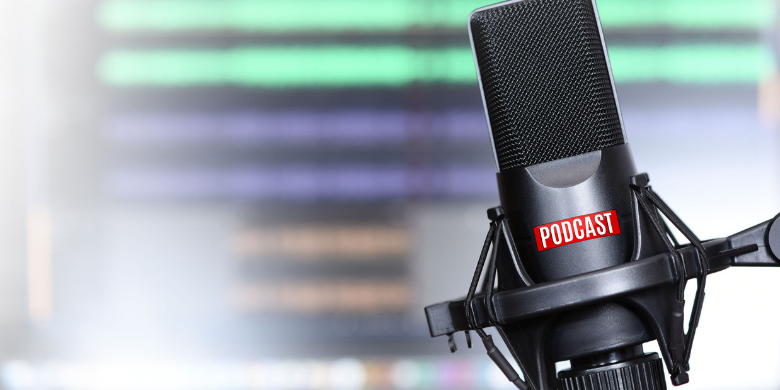 Tips on podcasting include getting the right gear and crafting excellent questions.