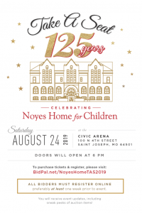 St. Joseph's Noyes Home celebrates 125 years of serving children in need of safety, food and education assistance.
