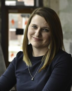 Jordan Shadwick brings people skills and dramatic flare to roll as an account manager with SJC Marketing.