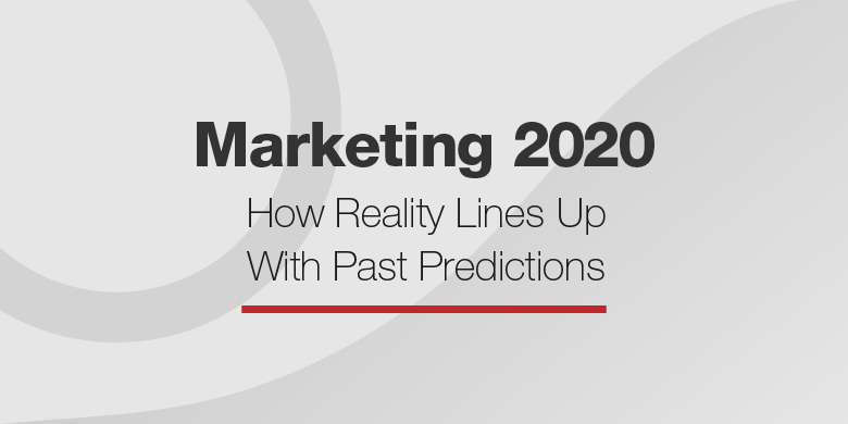 Video and personalization are both big marketing trends for 2020; here's what else was predicted.