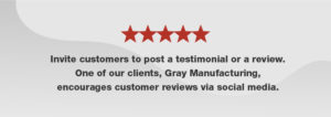 Inviting customers to post reviews enhances your brand's authenticity and strengthens your SEO.