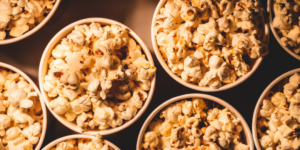 The team at SJC Marketing is full of movie buffs so family movie nights are a holiday must.