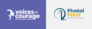 SJC Marketing has had the privilege of working with nonprofits Voices of Courage and Pivotal Point.