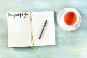 Focus on the positive in 2021 by keeping a grateful journal as part of your New Year's resolutions.