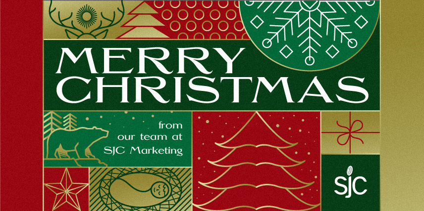 Merry Christmas from our team at SJC Marketing.