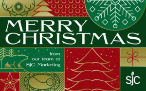 SJC Marketing wishes you a very Merry Christmas!