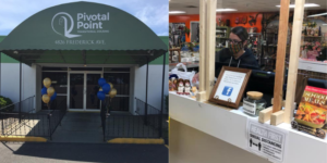 Pivotal Point's Thrift Shoppe supports their transitional housing program, guiding people to self-sufficiency.