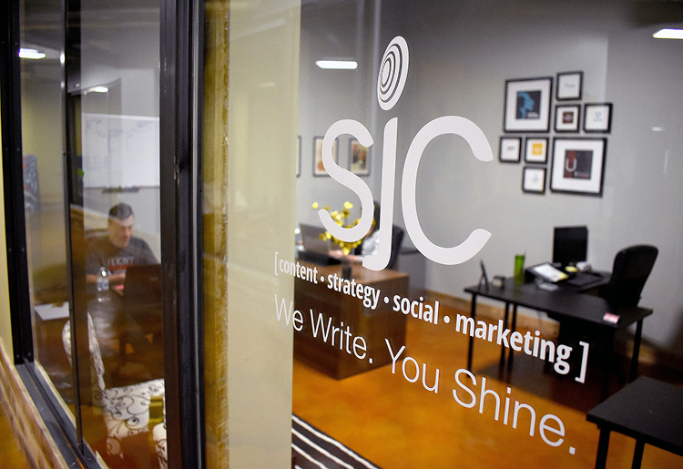 Whether we're writing, snapping photos or designing logos for your brand, you shine.