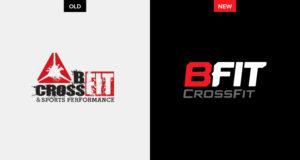 SJC Marketing transformed BFIT CrossFit's image with a simplified logomark that amplifies their brand.