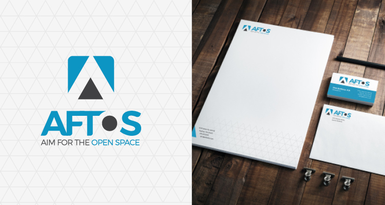 White space can play to your favor when choosing a brand design, just check out this piece for AFTOS.