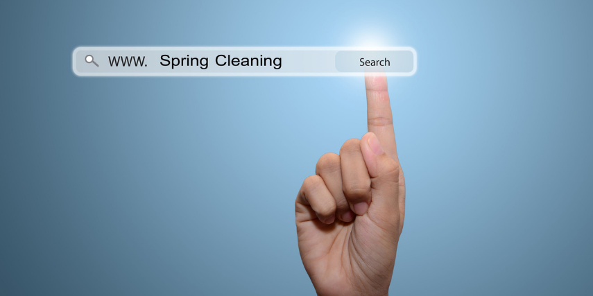 Whether it's a slow-loading website or an outdated buyer persona, it's time for cleaning up your marketing strategy.