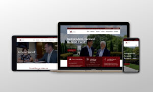 The design and development of a new website gave Lawson Kroeker a seamless, digital connection with young investors.