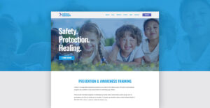 SJC Marketing provided Voices of Courage with website design and development to help them better reach their community.