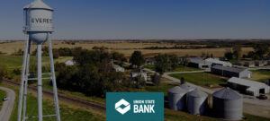 Graphic design brings Union State Bank's website to life, featuring the communities their seven banks call home.