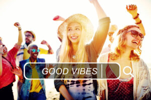 Your website should be designed with the customer experience in mind bringing good vibes with it.