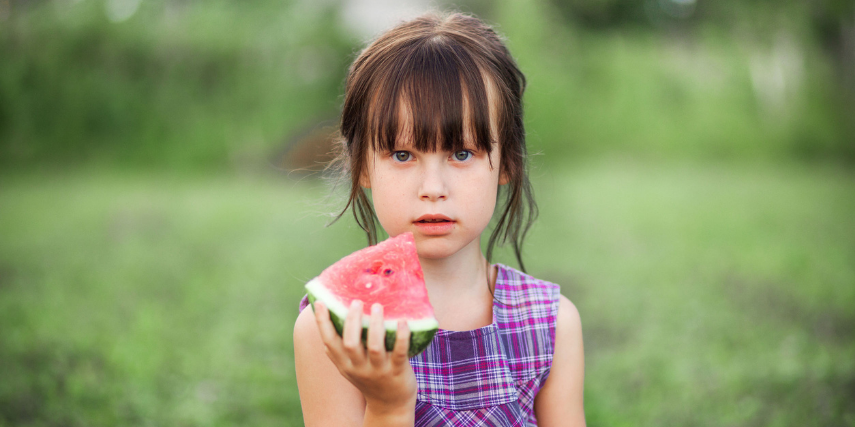All children should get to enjoy a frosty wedge of watermelon, thanks to programs like Hunger-Free Summer.