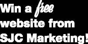 Win a free website from SJC Marketing!